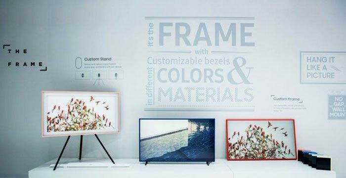 Bạn có thể treo tường tivi The Frame hoặc ở đâu tùy thích