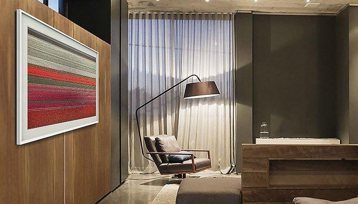 Tivi The Frame tự điều chỉnh ánh sáng và màu sắc cho phù hợp với căn phòng