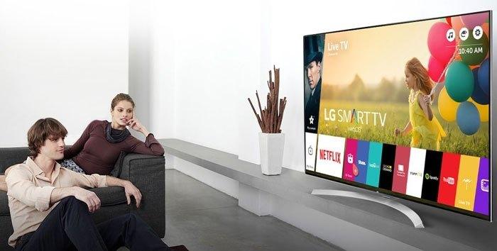 Thêm sự hiện đại và sang trọng cho ngôi nhà với Smart tivi