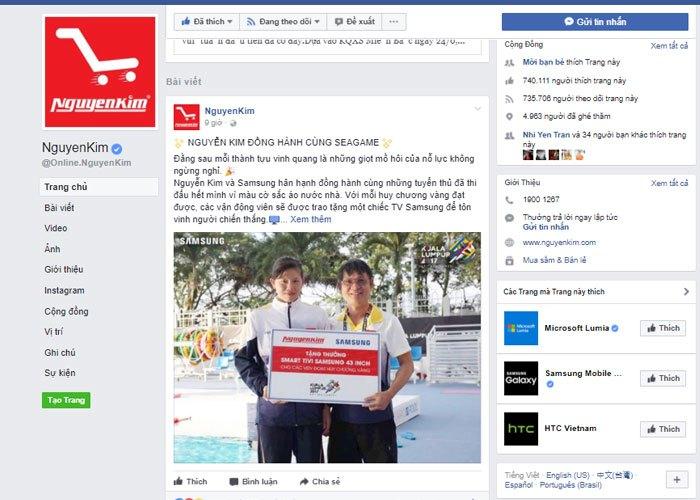 Nguyễn Kim và Samsung đồng hành cùng đội tuyển Việt Nam trong SEA Games 29