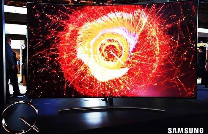 Tivi QLED hiển thị màu sắc và hình ảnh đầy mê hoặc