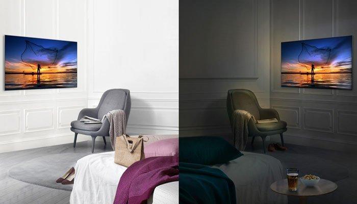 Tivi QLED giữ nguyên chất lượng hình ảnh dù ở môi trường ánh sáng nào