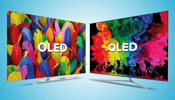 So sánh tivi QLED và tivi OLED