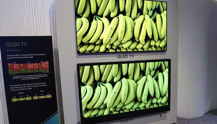 So sánh hình ảnh tivi QLED và tivi OLED