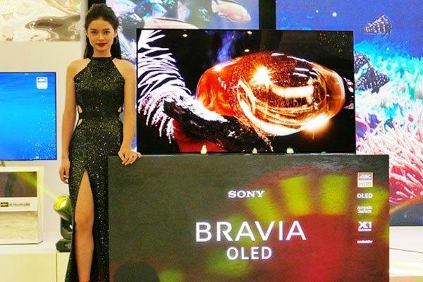 Dòng A nổi bật của tivi BRAVIA OLED được Sony trình làng
