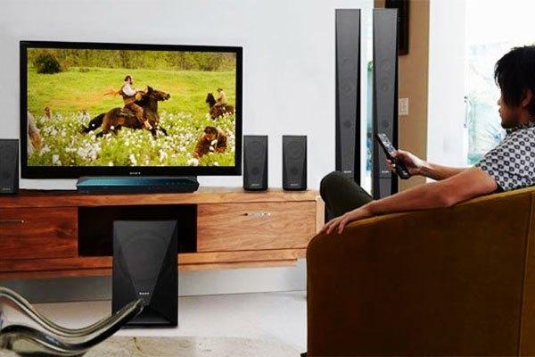 Dàn máy Sony Khuếch đại âm thanh khắp không gian nhà bạn với công suất lớn