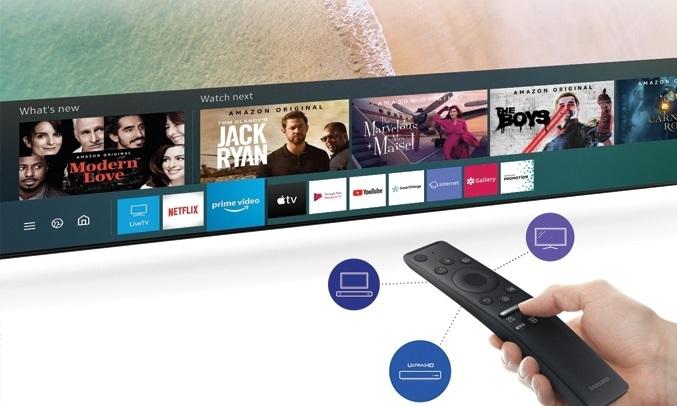 Smart Tivi QLED Samsung 4K 50 inch QA50Q65TAKXXV