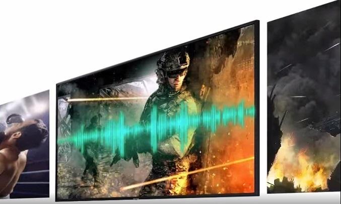 Smart Tivi Samsung 4K 65 inch UA65TU8100KXXV