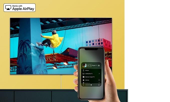 Smart Tivi Samsung 4K 70 inch UA70TU7000KXXV - Airplay2