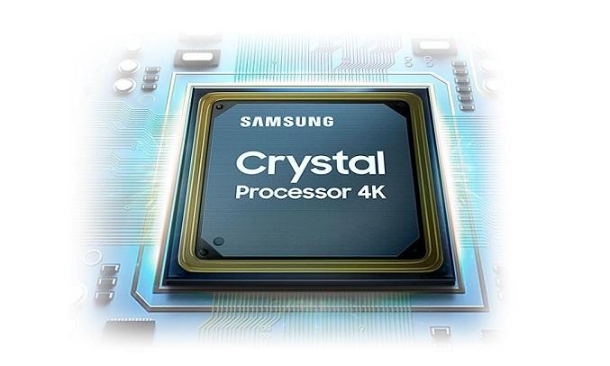 Smart Tivi Samsung 4K 70 inch UA70TU7000KXXV - Bộ xử lý Crystal 4K