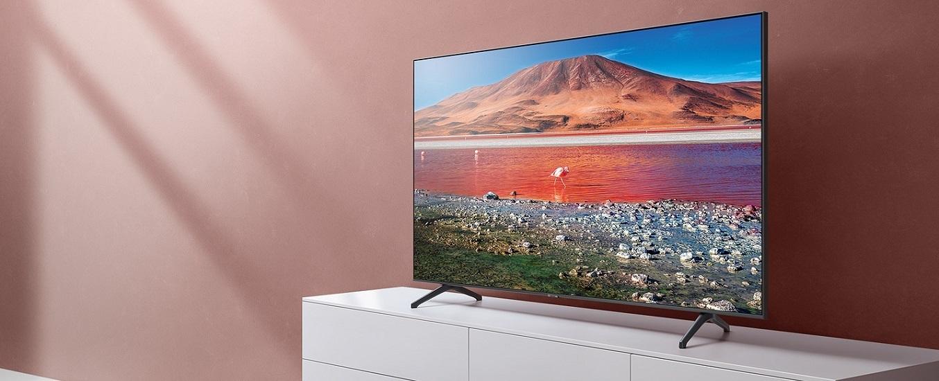 Smart Tivi Samsung 4K 70 inch UA70TU7000KXXV - Thiết kế sang trọng