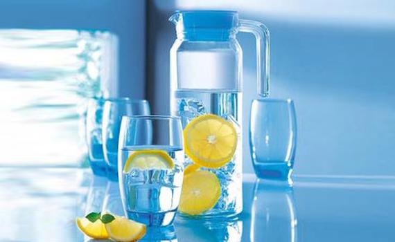 Bộ bình ly thủy tinh Luminarc Rotterdam Ice Blue trang nhã