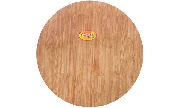 Bàn học sinh vân gỗ Ohi@ma HMT-3050L thiết kế mặt bàn khá rộng