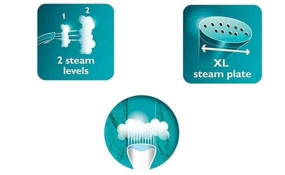 Bàn ủi hơi nước Philips GC506 có hai mức độ phun nước