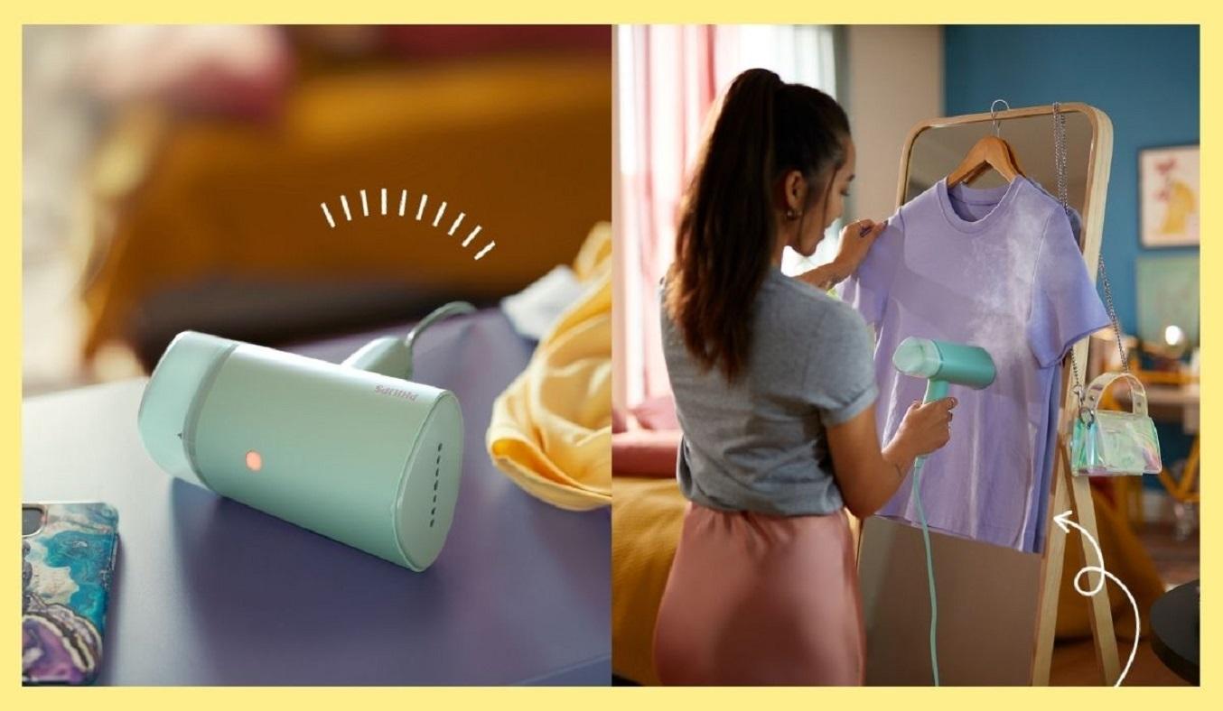 Bàn ủi hơi nước Philips STH3010/70 - Thiết kế nhỏ gọn
