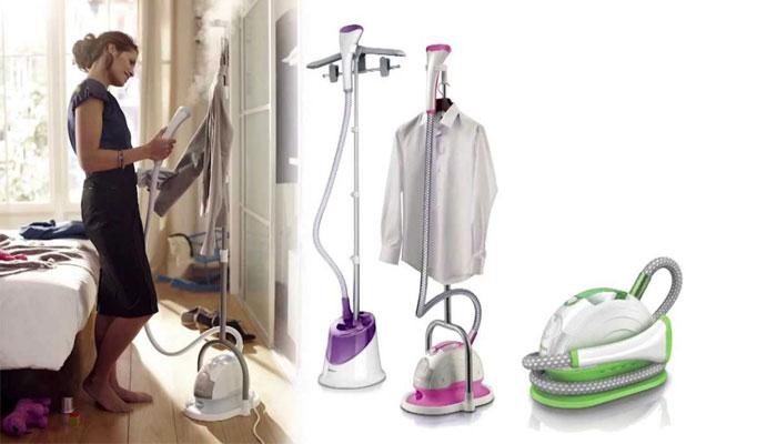 Bàn ủi hơi nước đứng ngày càng trở nên thông dụng trong cuộc sống hiện đại