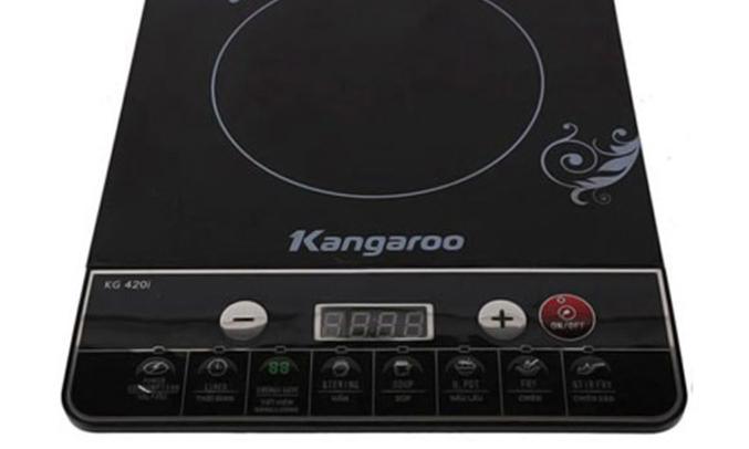 Bếp điện từ Kangaroo KG420I thiết kế nhỏ gọn