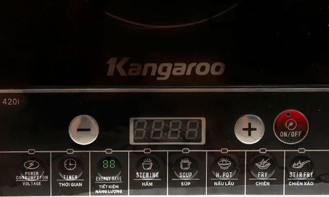 Bếp điện từ Kangaroo KG420I 8 chức năng nấu