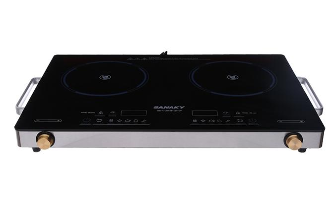 Bếp hồng ngoại đôi Sanaky SNK-203HGNW hoạt động công suất cao