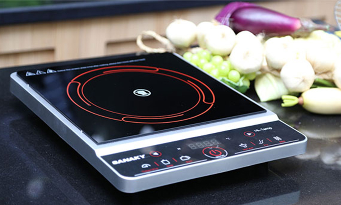 Bếp hồng ngoại Sanaky SNK-2014HG dễ vệ sinh