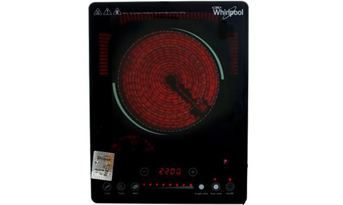 Bếp hồng ngoại Whirlpool ACT209 nấu ăn đa dạng