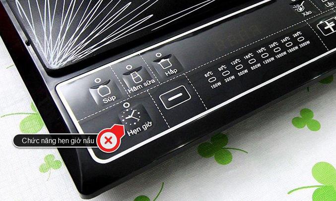 Bếp điện từ cơ Sunhouse SHD6145 chế độ hẹn giờ thông minh