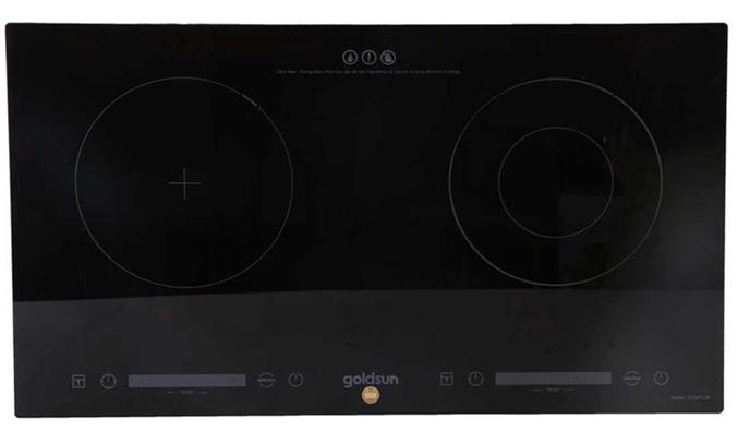 Bếp điện đôi kết hợp Goldsun CH-GYL26 thiết kế sang trọng, tinh tees