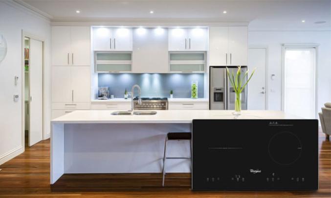 Bếp điện đôi Whirlpool ACH752/BLV 2 bếp tiện lợi