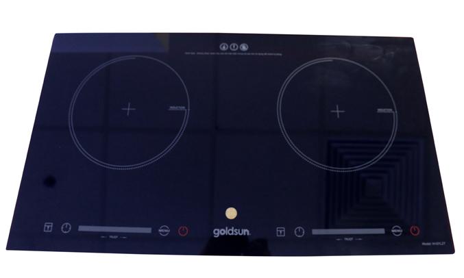 Bếp điện từ đôi Goldsun IH-GYL27 bảng điều khiển cảm ứng