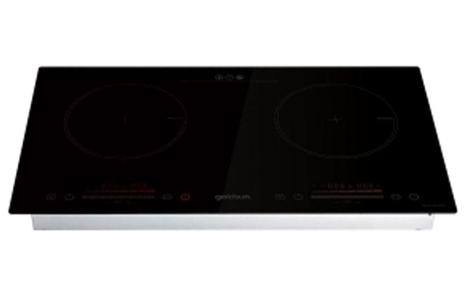 Bếp điện từ đôi Goldsun IH-GYL27 mặt kính chịu lực, chịu nhiệt