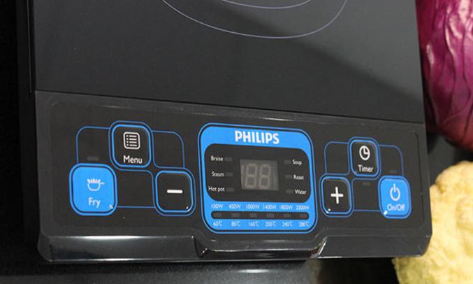 Bếp điện từ Philips HD4921 đa dạng chức năng nấu