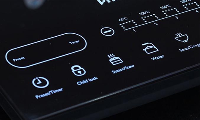 Bếp điện từ Philips HD4932 hẹn giờ tiện lợi