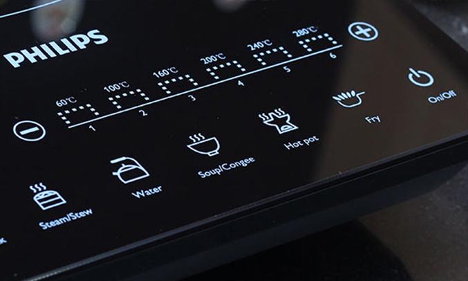 Bếp điện từ Philips HD4932 5 chương trình nấu