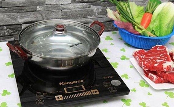 Bếp điện từ Kangaroo KG412I thiết kế nhỏ gọn
