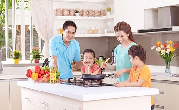 Bếp gas Rinnai RVB-2BG(L)N giúp gia đình bạn có những bữa ăn ngon