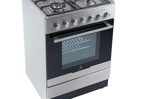Bếp thùng Electrolux EKM61301OX thiết kế chắc chắn, dễ dàng vệ sinh