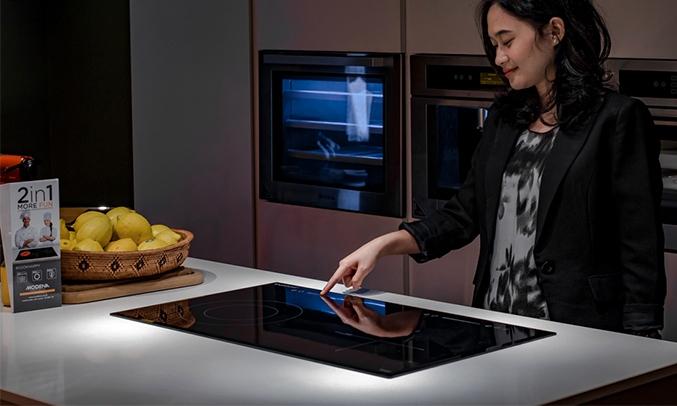 Bếp từ hồng ngoại Modena Bl 1725 thao tác dễ dàng