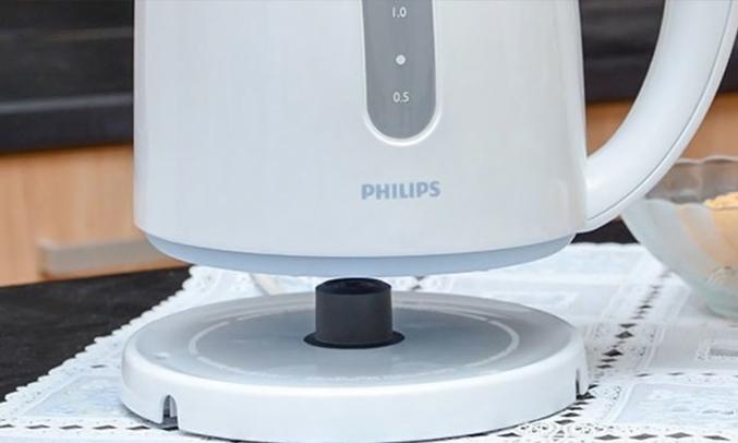 Bình đun Philips HD4646 chân đế xoay