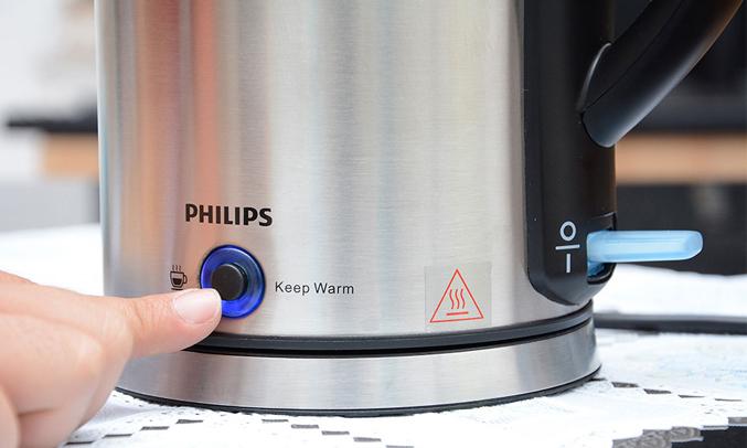 Bình đun siêu tốc Philips HD9316 1.7 lít an toàn