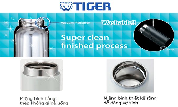 Bình lưỡng tính Tiger MMW-A048 (PR) miệng bình rộng