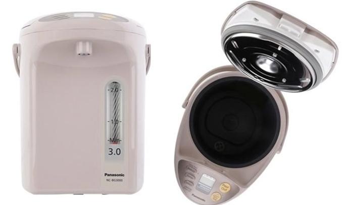 Bình thủy điện Panasonic NC-BG3000CSY thanh đo mực nước tiện lợi