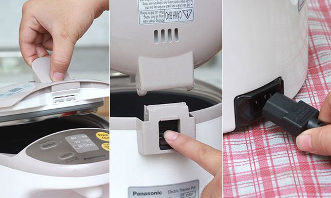 Bình thủy điện Panasonic NC-EG3000CSY dung tích 3 lít