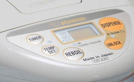 Bình thủy điện Zojirushi CD-JUQ30-FS đun sôi kết hợp giữ ấm nhiệt