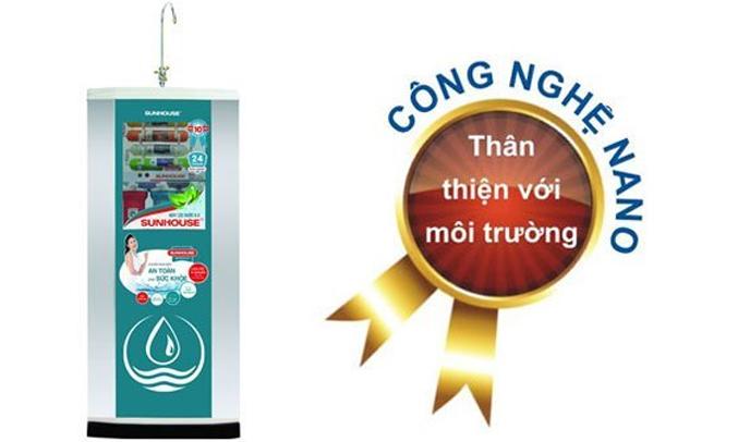 Máy lọc nước Sunhouse SHR88310K lọc nước hiệu quả