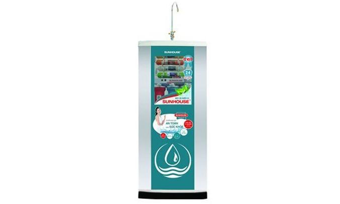 Máy lọc nước Sunhouse SHR88310K thiết kế hiện đại