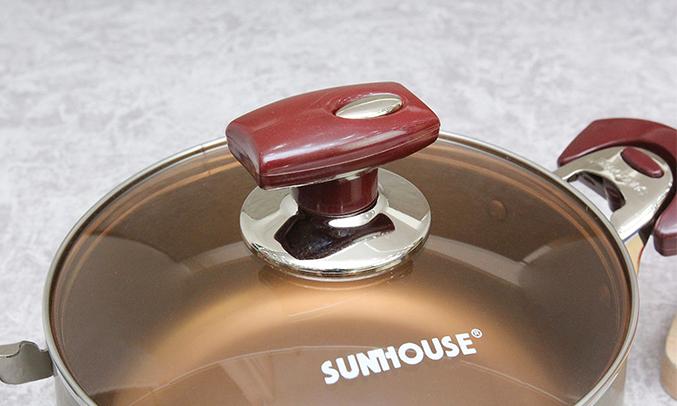 Bộ nồi Sunhouse SH9951 bền tốt