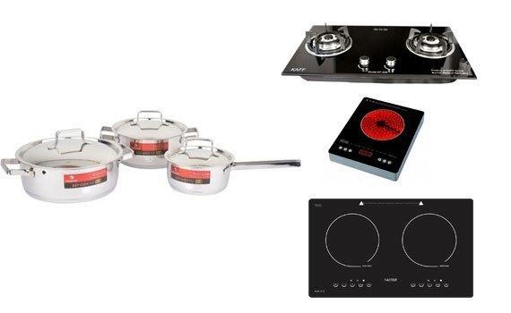 Bộ nồi inox Happy Cook Milan HC-06ML có tính tiện dụng cao