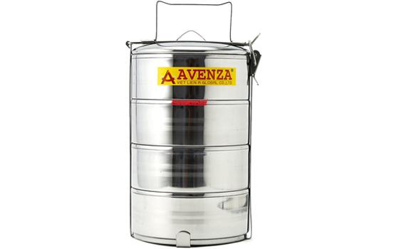 Cà men 4 ngăn Avenza CMAV-4CN thiết kế 4 ngăn tiện lợi