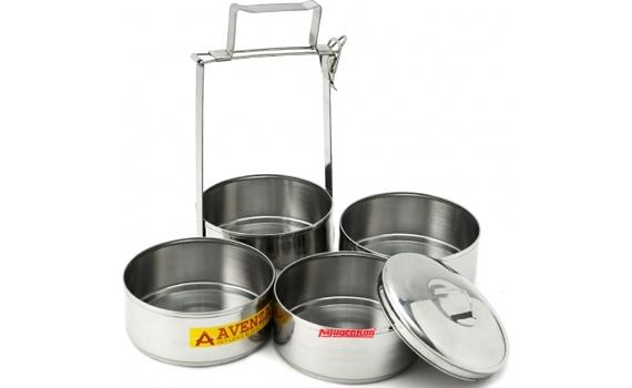 Cà men 4 ngăn Avenza CMAV-4CN bằng chất liệu inox