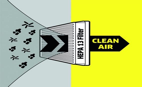 Máy hút bụi KarcherVC 3 Plus lọc sạch 99,9% bụi bẩn